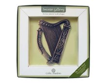 The Irish Harp Plaque