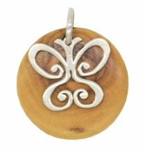 Butterfly Star of Bethlehem Pendant