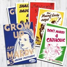 Grow Up and Marry Postcard Pack