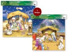 Children's Nativity Scene Advent Calendar