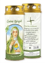 St Brigid Windproof Candle