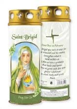 St Brigid Windproof Candle