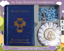 Symbolic First Holy Communion Gift Set