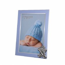 New Baby Boy Frame with Bear Icon