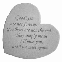 8602 Goodbyes Are Not Forever