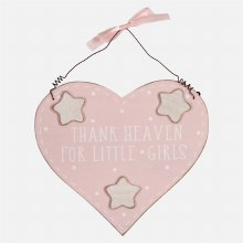 Pink Petit Cheri For Little Girls Plaque