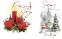 Alzheimer Christmas Card Pack 16 cards 2 designs