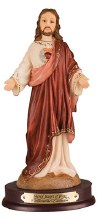 Sacred Heart Resin Statue (20cm)