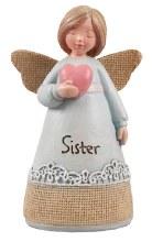 39356 Sister Message Angel 10cm