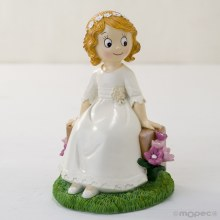 First Holy Communion Girl Cake Topper