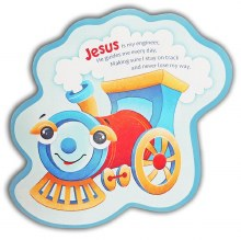 Jesus is my engineer Children's plaque