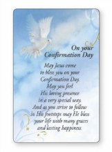 Symbolic Confirmation Prayer Leaflet