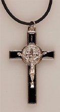 Black Benedict Crucifix  (5cm)