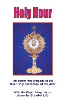 Holy Hour: We Adore You Eternally
