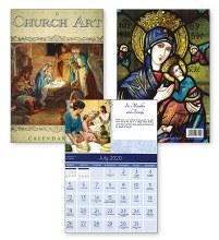 Church Art Calendar 2020