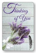 Thinking of You Laminated Prayer Leaflet