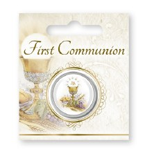 Symbolic First Holy Communion Pocket Token