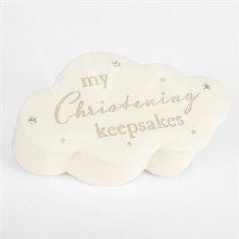 Christening Cloud Trinket Box