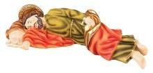 56997 Sleeping St Joseph 30cm