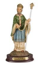 St Patrick Resin Statue (30cm)