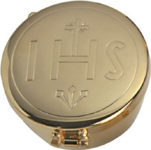IHS Gold Plated Pyx (20 hosts)