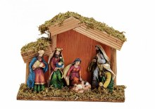 Fixed Nativity with Shelter