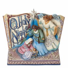 Jim Shore His Story Lives, O Holy Night Songbook