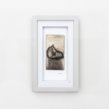 Harmony (Grey Frame) - Wild Goose Art (Lime)