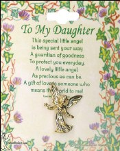 To My Daughter Brooch