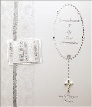 Handcrafted First Holy Communion Keepsake