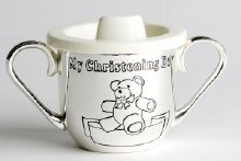 Silver Plated Baptism Day Cup
