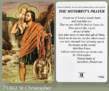ST Christopher Prayer Leaflet