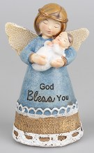 Blue Baby Birth Angel Gift