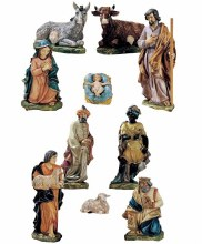 Nince Piece Traditional Nativity Pieces