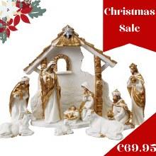 89419 Unto  Us A Child Is Born Nativity 20cm fig
