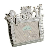 Silverplated Noah's Ark Boat Photo Frame