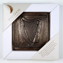 Wild Goose Harp of Ireland Wall Plaque