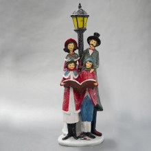 8228 Christmas Carol Singers with Lampost 42cm