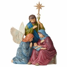 Heartwood Creek Child of Grace Holy family Scene (30cm)