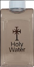 Square Holy Water Bottle