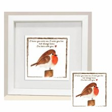 RC005 Miss You Red Robin Frame