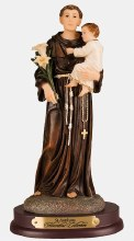 SAINT THERESA 125mm RESIN STATUE CRUCIFIXES CANDLES PICTURES ARE ALSO LISTED