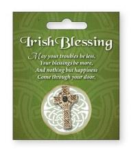 Celtic Cross Broooch