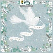 Peace Hope and Joy Irish Hospice Box of 12 cards