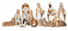 Nativity scene 12 figures 7""