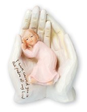 34621 Girl in the Psalm of Hand 15 cm