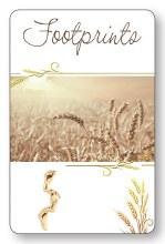 Footprints Laminated Prayer Leaflet