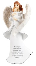 Miracle of Life message Angel 20cm