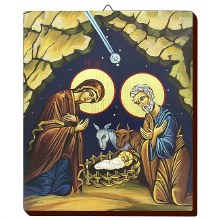 Nativity Hand Painted Icon