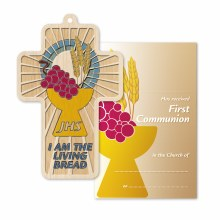 First Holy Communion wooden Cross 12cm